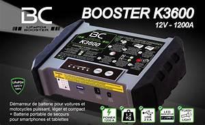 Booster De Batterie Voiture : bc booster k3600 d marreur voiture moto puissant l ger ~ Dailycaller-alerts.com Idées de Décoration