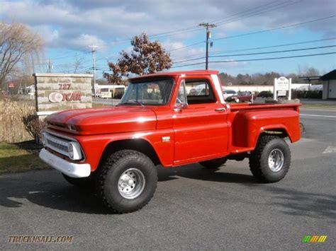 1966 Chevrolet C/K K10 4x4 in Red   133172   Truck N' Sale