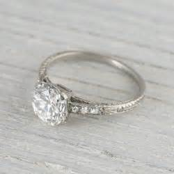 deco vintage engagement rings vintage deco engagement ring by erstwhilejewelry just a bit smaller and