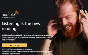 New Amazon Prime Perk in Canada: 3 Months Free Audible ...