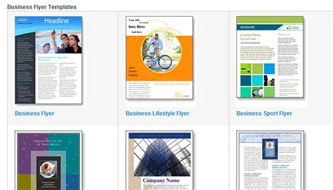 5 Informational Flyer Templates