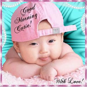 Images Of Cute Baby Saying Good Morning Images Golfclub