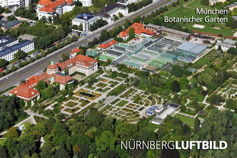 Parken Alter Botanischer Garten München by M 252 Nchen Botanischer Garten Luftbild