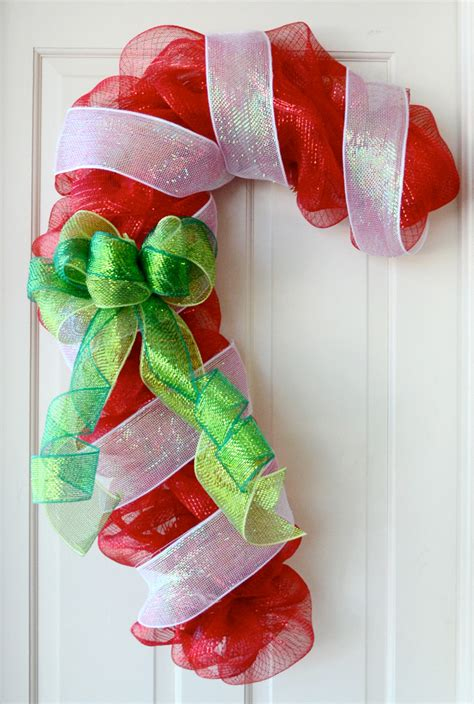 party ideas  mardi gras outlet candy cane door