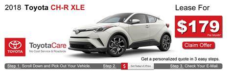 Toyota Lease Deals by Toyota C Hr Lease Deals Near Boston Ma