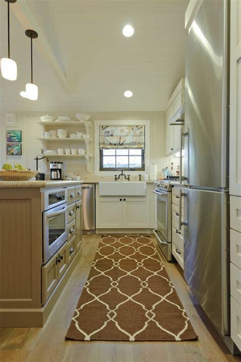 Beadboard Kitchen Island   Transitional   kitchen