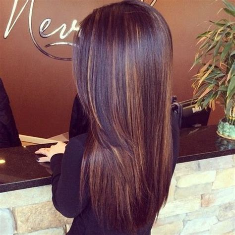 Balayage Hairstyles For Long Dark Hair