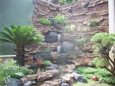 kolam relief tebing cadas buatan mulya asri taman hp   jasa pembuatan taman