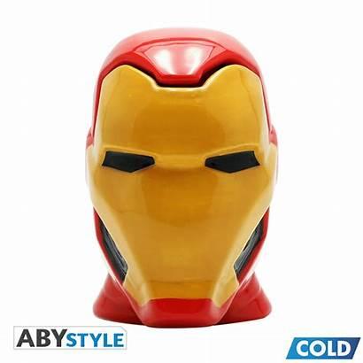 Mug Iron Marvel 3d Abystyle Mugs Temporarily