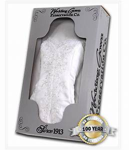 celebrity wedding gown preservation kit With wedding dress preservation kit