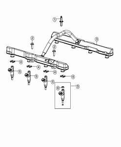 Ram 3500 O Ring Kit  Fuel Injector   3 6l V6 24v Vvt