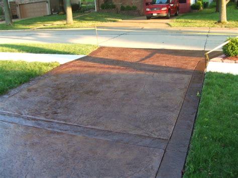 textured concrete patio sted decorative concrete st louis concrete