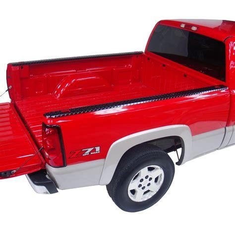 31994B Dee Zee Black Aluminum Bed Rail Caps Dodge Ram 6.5