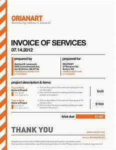 orianart With freelance artist invoice template
