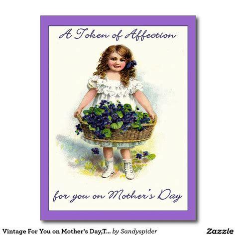 vintage    mothers daytoken  affection