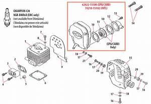 Shindaiwa B450 Brushcutter Parts Diagrams Online