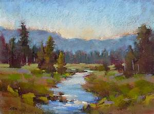Pastel paintings on Pinterest | Soft Pastels, Landscape ...
