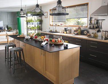 cuisine type industrielle cuisine style industriel castorama