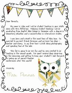 life of a someday teacher With letter to parents template from teachers