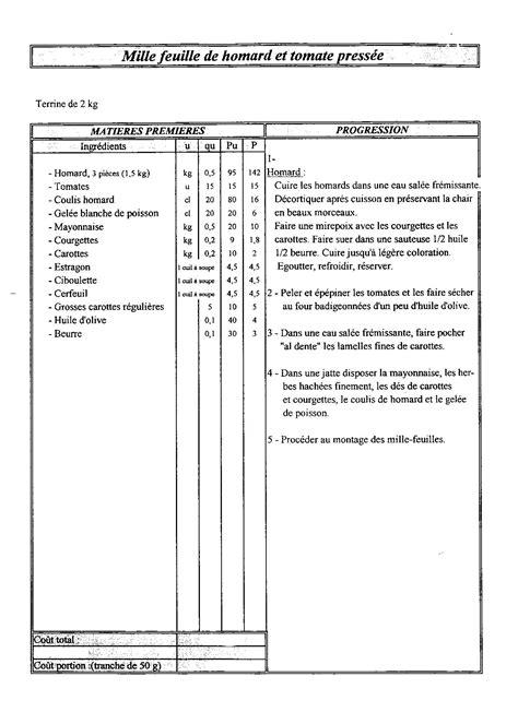 fiche technique cuisine pdf fiches techniques cuisine collective