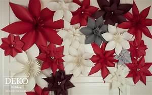 Deko Aus Papier : diy wanddeko mit christsternen aus papier deko kitchen ~ Lizthompson.info Haus und Dekorationen