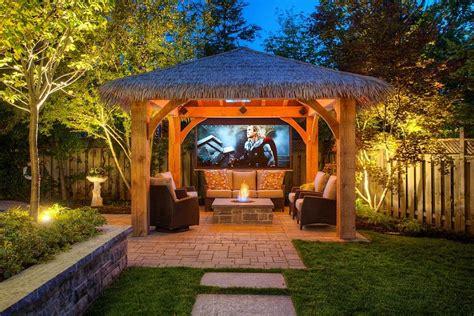 outdoor fire pit landscaping ideas   backyard