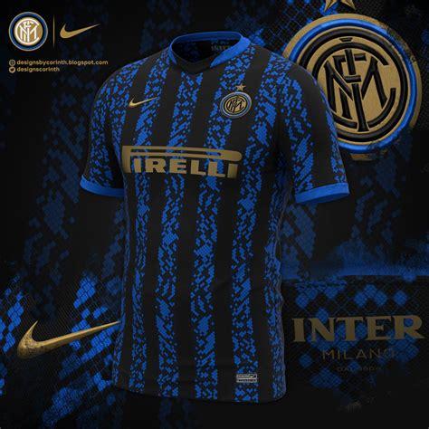 Inter Milan 2021-22 Home Kit Prediction | Kit design ...
