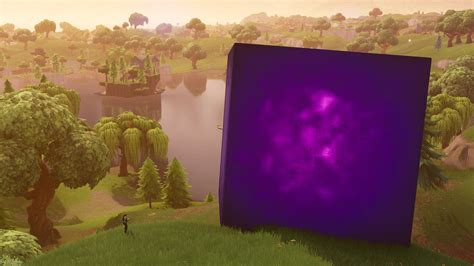 fortnite cube  event  loot lake bouncy adds