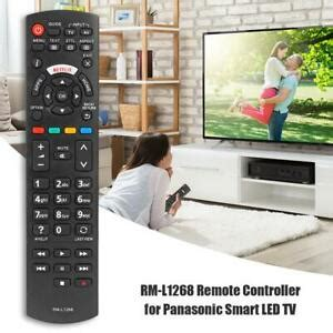 Smart LED TV Remote Control RM-L1268 for Panasonic Netflix ...
