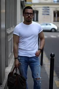 White shirt for casual wear - DRESS LIKE A - Dresslikea.com