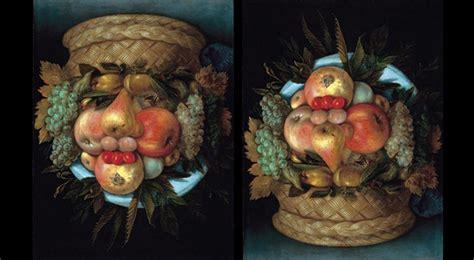 arcimboldo painting   arcimboldos reversible heads
