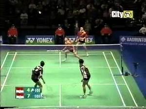 Badminton Best Men's Doubles Match Ever [1/3] - YouTube