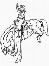 Cowboy Coloring Pages Print sketch template