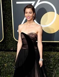 Jessica Biel Golden Globe Awards 2018 In Beverly Hills