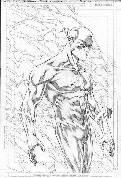 Flash Coloring Dc Pages Comics Comic Marvel