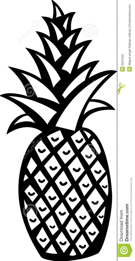pineapple outline vector pineapple vector free clipart panda free