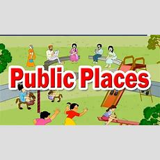 Public Places (unit 3)  2nd Std  Evs  English Medium  Maharashtra Board  Home Revise Youtube