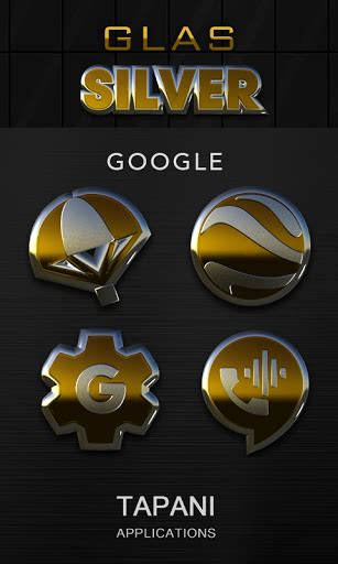 Home Design 3d Gold Version Apk by Gold Silver Glas Icon Pack 3d Version Apk
