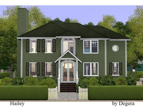 hailey country style family home  degera sims