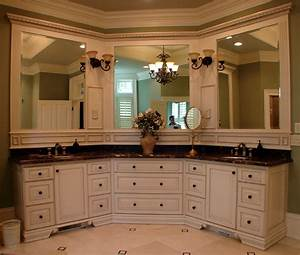 double or single mirror in master bath big mirror With master bath vanity design ideas