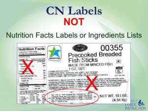 child nutrition label pfs  recipes northwestern ohio