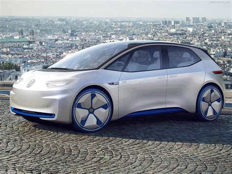 Vw Id Concept 370 Miles Of Electric Range In 2020