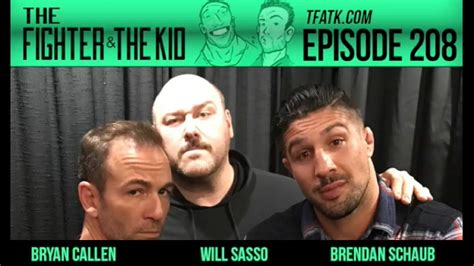 The Fighter and the Kid - Episode 208: Will Sasso - YouTube