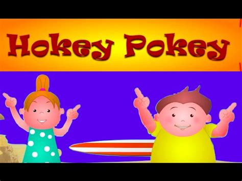 hokey pokey song  lyrics nursery rhymes  children
