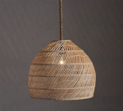 chic room decor rattan woven hanging l i horchow