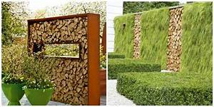 clotures de jardin en 59 idees captivantes With idee de cloture de jardin