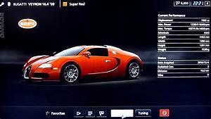 [HD] GT5: Bugatti Veyron Customization gameplay - YouTube