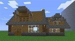 Simple Manor Minecraft Project