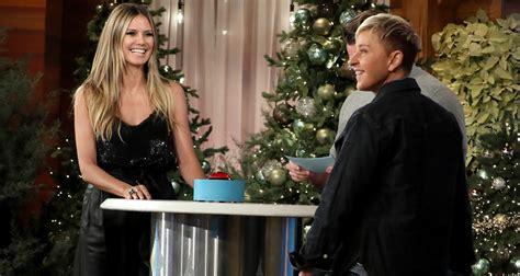 heidi klum on new fiance tom kaulitz i still believe in marriage degeneres