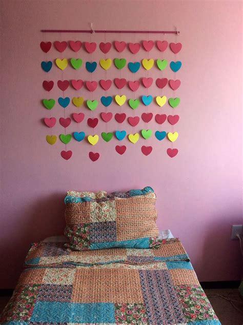 como hacer una cortina con corazones de papel como hacer una cortina con corazones de papel mi
